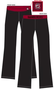 South Carolina Womens Fit Yoga Pants