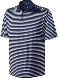 Holloway Helix Performance Wear Striped Polo