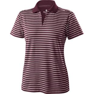 Holloway Ladies Helix Engineered Stripe Polo CO