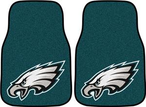Fan Mats Philadelphia Eagles Carpet Car Mats (set)