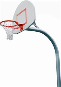 PK4540 Standard Gooseneck Basketball Goal Package