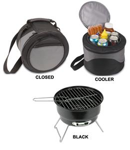 Picnic Time Caliente Compact Portable Grill &amp; Tote