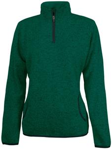 Charles River Women's Heathered Fleece Pullover