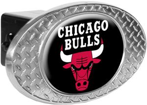 NBA Chicago Bulls Diamond Plate Hitch Cover