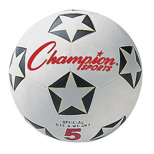 Champion Official Rubber Cover 2 Ply Soccer Balls