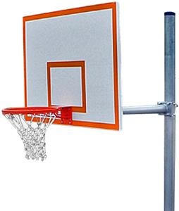 PK4551 Standard Straight Basketball Goal Package