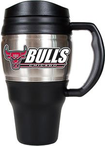 NBA Chicago Bulls Stainless Steel 20oz Travel Mug