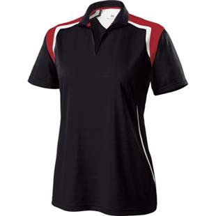 Holloway Catalyst Ladies' Textured Stripe Polo CO