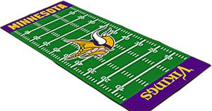 Fan Mats Minnesota Vikings Football Runner
