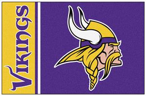 Fan Mats Vikings Uniform Inspired Starter Mat