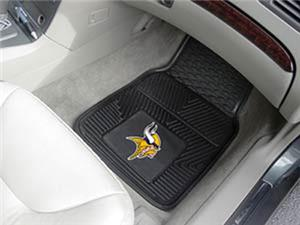 Fan Mats Minnesota Vikings Vinyl Car Mats