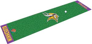 Fan Mats Minnesota Vikings Putting Green Mat