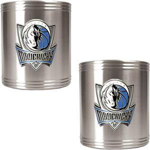 NBA Dallas Mavericks Stainless Steel Can Holders