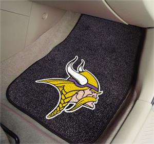 Fan Mats Minnesota Vikings Carpet Car Mats