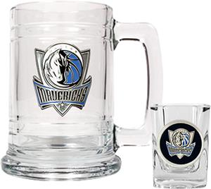 NBA Dallas Mavericks Boilermaker Gift Set