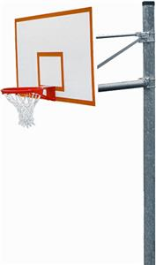 PK6010 Heavy-Duty Straight Basketball Goal Package