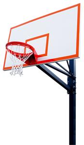 "Endurance 72"" Steel Basketball Backboard System"