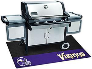 Fan Mats NFL Minnesota Vikings Grill Mat