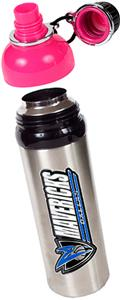 NBA Dallas Mavericks Water Bottle w/Pink Top