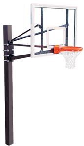 "Endurance 60"" Glass Basketball Backboard System"