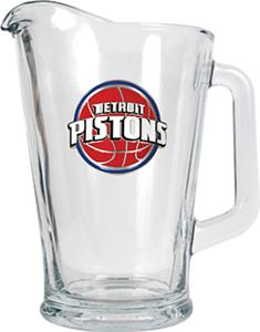 NBA Detroit Pistons 1/2 Gallon Glass Pitcher