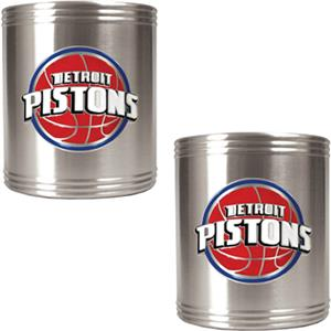 NBA Detroit Pistons Stainless Steel Can Holders