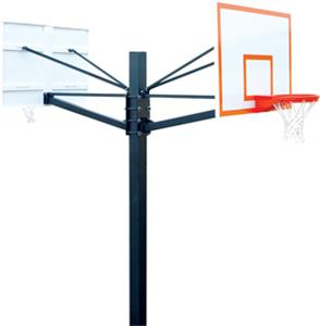 "Endurance 60"" Steel Double Backboard System"