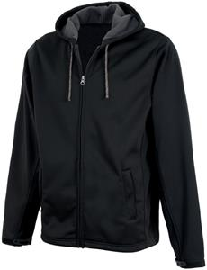 Charles River Mens Shadow Hooded Soft Shell Jacket