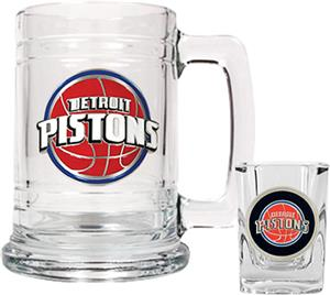NBA Detroit Pistons Boilermaker Gift Set