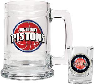 NBA Detroit Pistons Boilermaker Gift Set