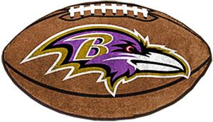Fan Mats Baltimore Ravens Football Mat