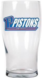 NBA Detroit Pistons 20oz Pub Glass