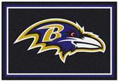 Fan Mats NFL Baltimore Ravens 5x8 Rug