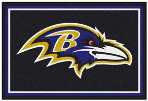 Fan Mats NFL Baltimore Ravens 5x8 Rug