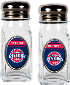 NBA Detroit Pistons Salt and Pepper Shaker Set