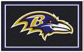 Fan Mats Baltimore Ravens 4x6 Rug