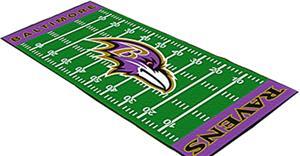 Fan Mats Baltimore Ravens Football Runner