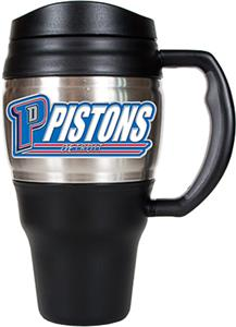 NBA Detroit Piston Stainless Steel 20oz Travel Mug