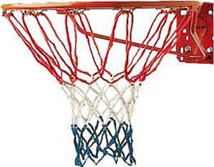 Champion Red/White/Blue Economy Basketball Net-4mm