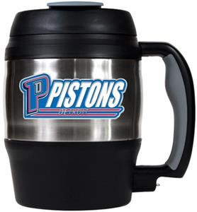 NBA Pistons 52oz Stainless Macho Travel Mug
