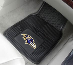 Fan Mats Baltimore Ravens Vinyl Car Mats (set)