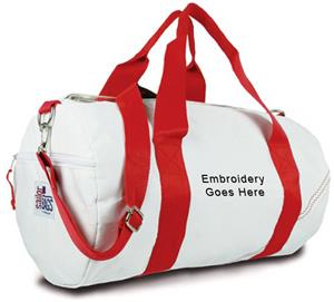 Sailorbags Medium Sailcloth Round Duffel Bags