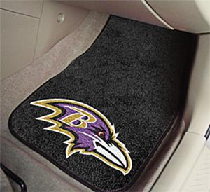 Fan Mats Baltimore Ravens Carpet Car Mats