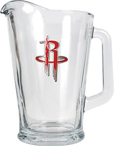 NBA Houston Rockets 1/2 Gallon Glass Pitcher