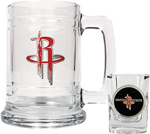 NBA Houston Rockets Boilermaker Gift Set