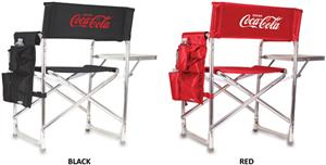 Picnic Time Coca Cola Folding Sport Chair w/ Strap