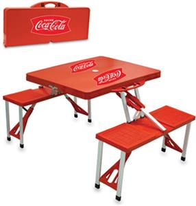 Picnic Time Coca Cola Portable Picnic Table