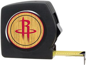 NBA Rockets 25' Tape Measure w/Crystal Coat Logo