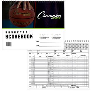 Champion Sports Spiral Bound Basketball Scorebook