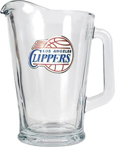 NBA Los Angeles Clippers 1/2 Gallon Glass Pitcher